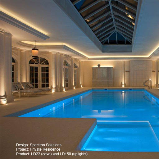 Private residence, Spectron Lightgraphix Creative Lighting Solutions