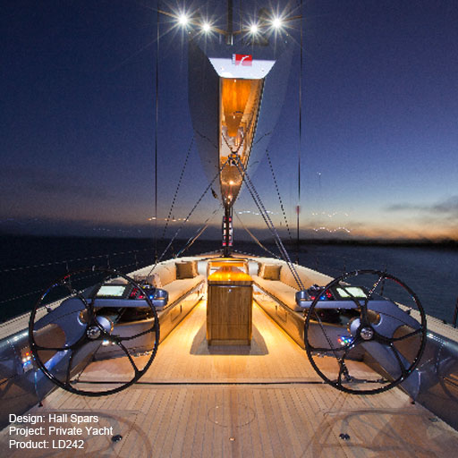 Private Yacht Lightgraphix Creative Lighting Solutions
